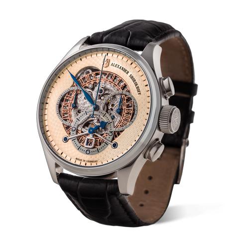 kunstvoller chronograph deutsche luxus uhr