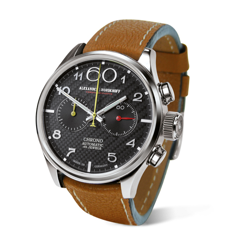 kunstvolle automatik chronographen deutsche luxusuhr