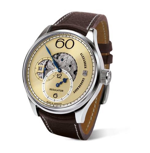 kunstvoller chronograph deutsche luxusuhr