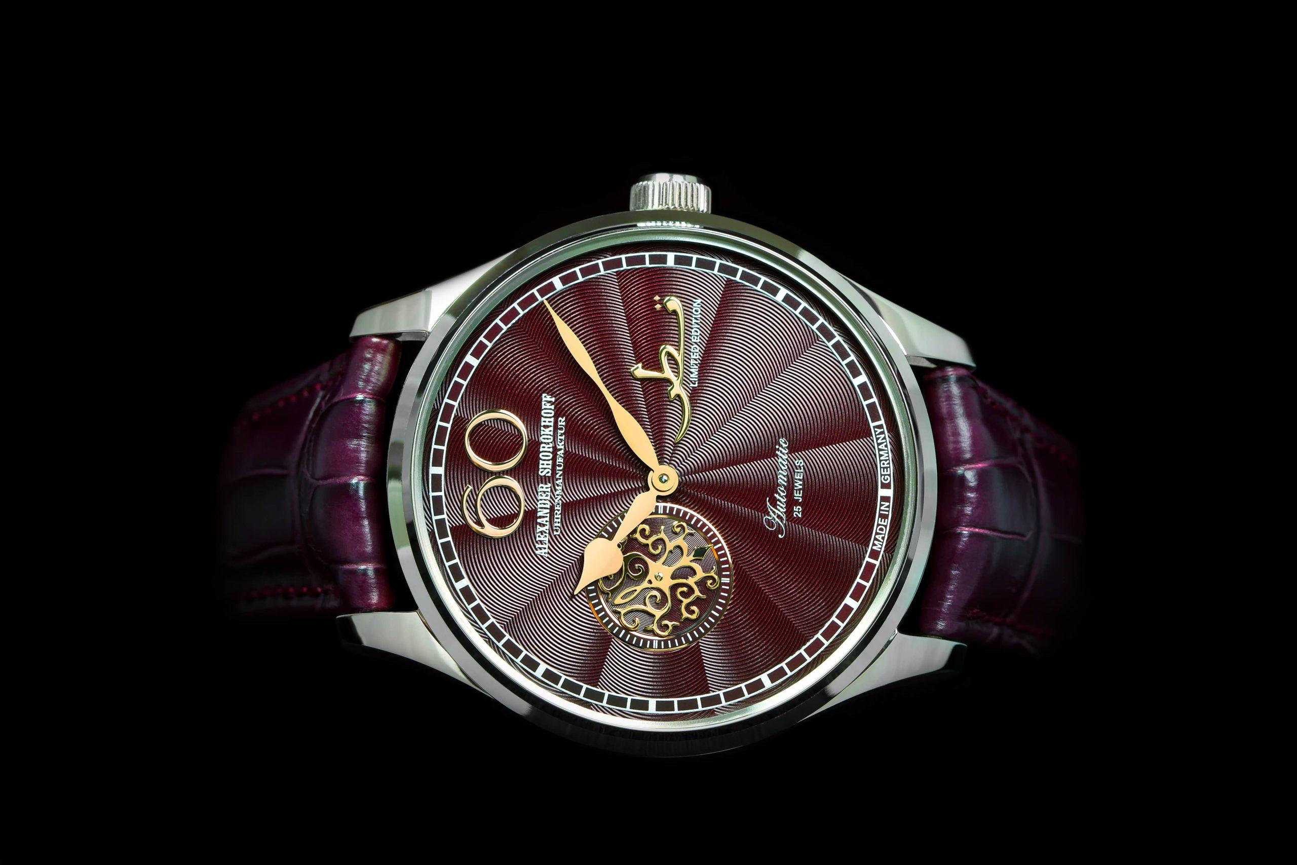 private label alexander shorokhoff watch